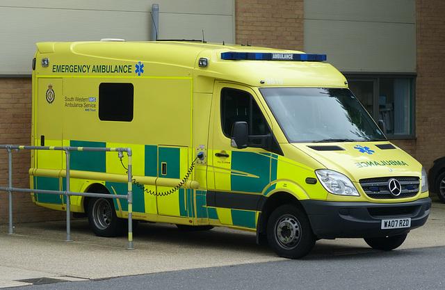 South Western Ambulance Sprinter - 1 September 2014