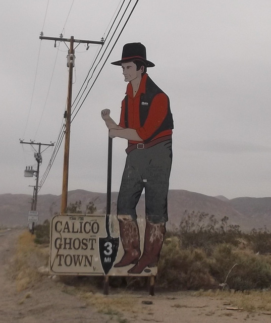 Calico Ghost Town - Recadrage