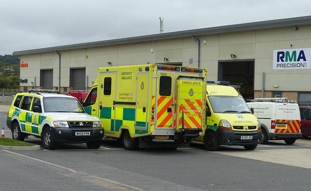 South Western Ambulance Medley - 1 September 2014