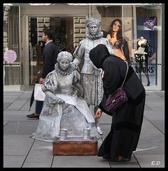 Scène de rue Vienne