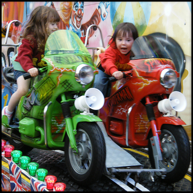 young bikers