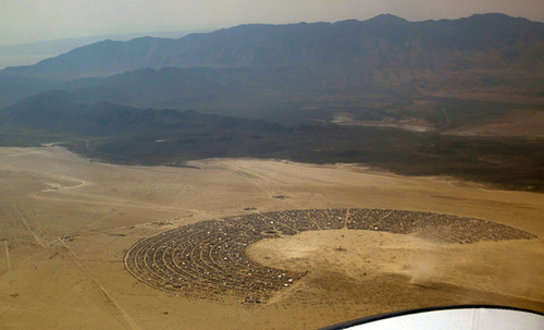 Aerial View Of Black Rock City (2472)