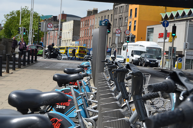 Boris Bikes in Dublin