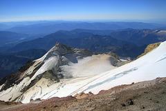 Sherman Peak and Sherman Crater