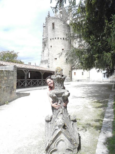 Dans le parc accolé à la cathédrale