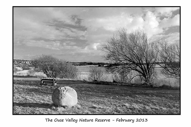 Ouse Valley Nature Reserve  February - 14.2.2013
