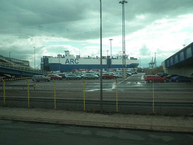 Autoverladung Bremerhaven