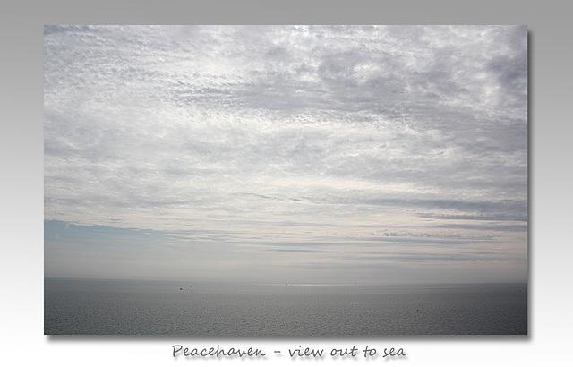 Sea view - Peacehaven - 18.9.2014