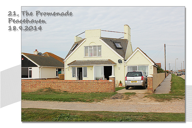 Peacehaven, 21 The Promenade - 18.9.2014