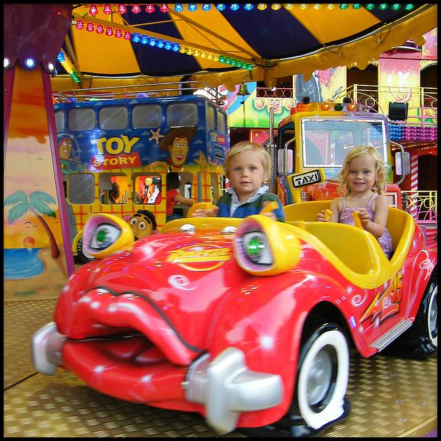 kiddies' roundabout