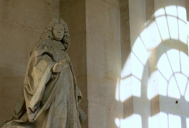 Here the light comes, château de Versailles