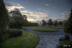 Dawn Skies this morning