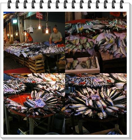 Le marché aux poissons à Izmir