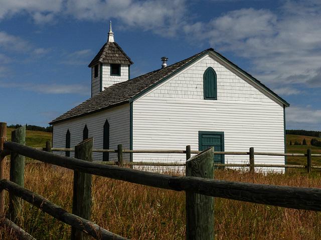 McDougall Church on a sunny day