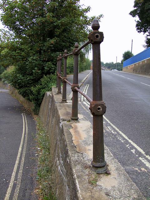 Old cast iron railing - Victorian