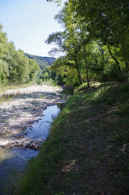 le Roubion à Pont de Barret - Drôme
