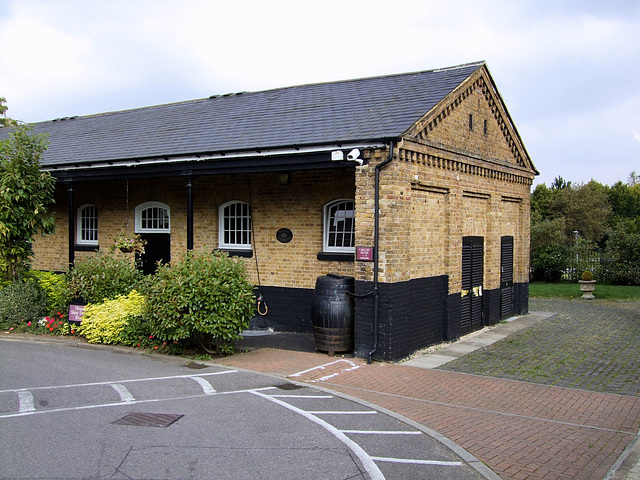 Part of the old North Stables of Beaumont Cavalry Barracks