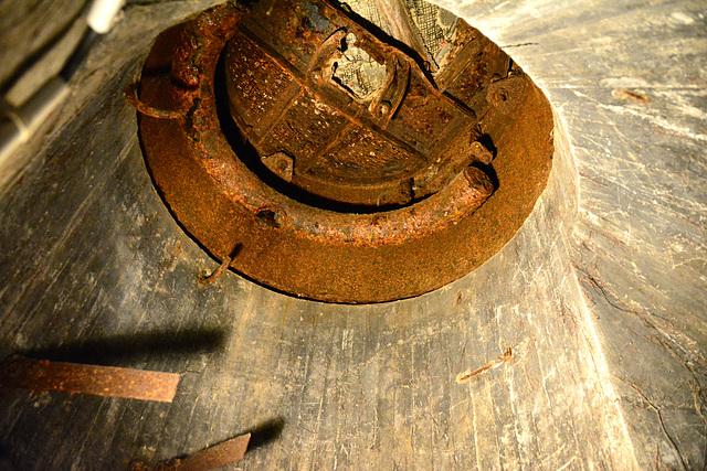Juno Beach 2014 – View inside on of the German bunkers