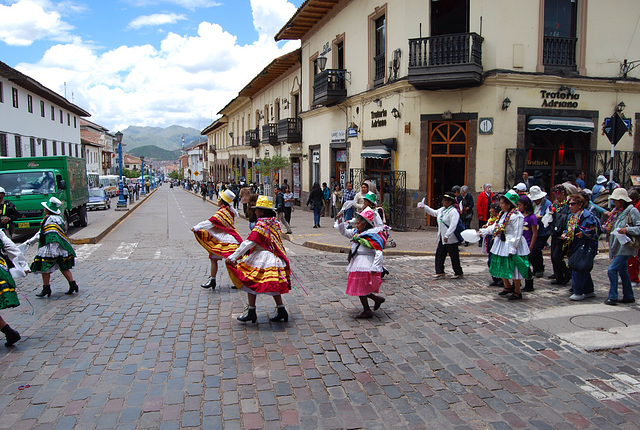 Un dimanche à Cusco