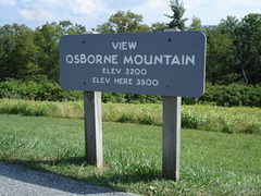Osborne mountain