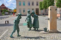 Hagenow, der Fiek'n-Brunnen