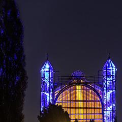 Berlin Dahlem. Botanischer Garten. Das Mittelmeerhaus. 201407