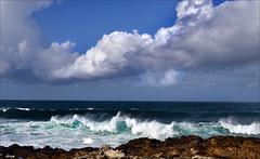 Guincho, ondas