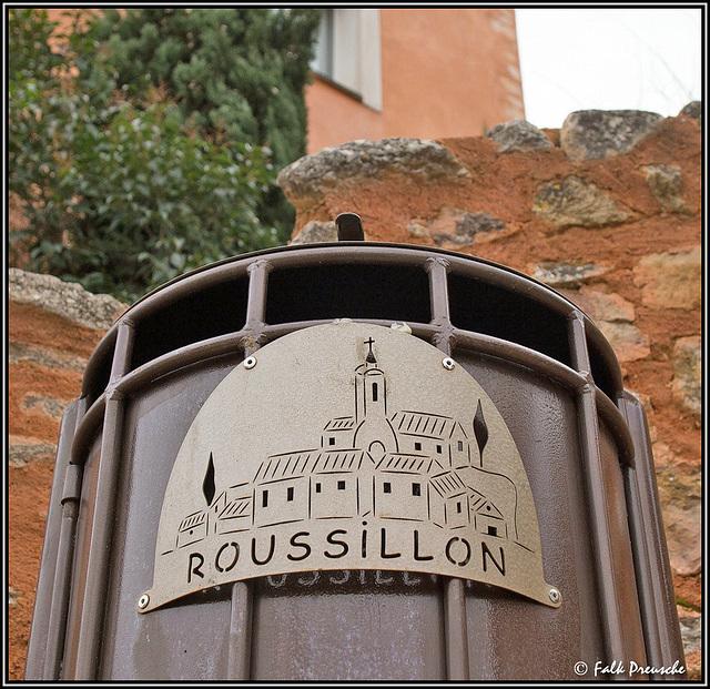 Roussillon Papierkorb