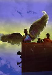 Menschen in Berlin - Der Engel