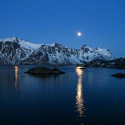Blue hour in Hadselfjorden