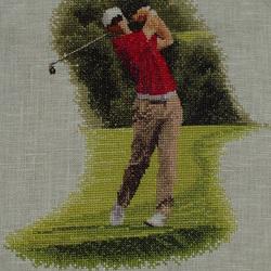 "John Clayton ""Golfer-FAirway"""