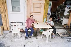 Street life of Sandakan