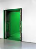 Door towards green.