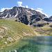 Das Wanderziel ist erreicht - Upisee-Panorama auf 2560 m  Höhe