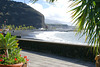 La Palma, Puerto de Tazacorte. Schwarzer Lapilli-Strand. ©UdoSm