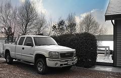 Floyd's truck.
