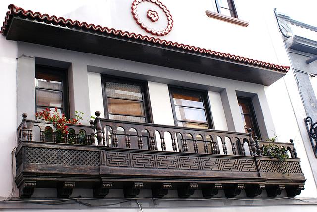 Santa Cruz de La Palma, Balkon in der Calle O'Daly. ©UdoSm