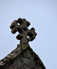 Church of St George Arreton roof finial - 1