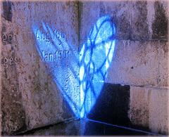 Blaues Herz ganz nah ... ♫ ♪ ♪ ♫