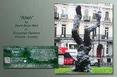 Alien - Victoria - London - 17.11.2014