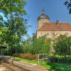 Haltepunkt Mügeln-Stadt am Schloß Ruhetal