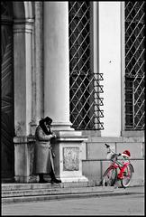 Dem Klaus sei Radl? - Santa's Bike?