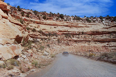 Down Moki Dugway - Utah State Rte. 261 (115°)