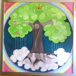 Lebensbaum - vivoarbo -Yggdrasil die Welten Esche