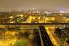 BELFORT: De nuit depuis la tour Madrid.