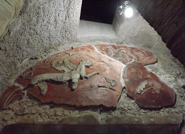Ipernity stucco decoration in the house of the griffins on the palatine hill july 2012 by - House on the hill 2012 ...