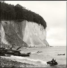 Kreideküste/ chalk cliffs