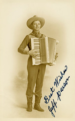Jeff Parson, Cowboy Accordionist
