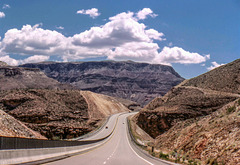 I-15 Into Virgin River Canyon, Arizona - May 1980