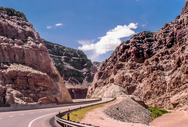 I-15 Virgin River Canyon, Arizona - May 1980
